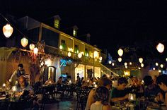 The Blue Bayou Restaurant in Disneyland.  Everyone wants to eat there.