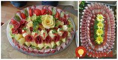 Studené misy sú obľúbeným aveľmi vďačným spôsobom, ako pohostiť našich hostí. Inšpirujte sa nápadmi na ich servírovanie apripravte pre vašich blízkych chutné akrásne pohostenie. Food Displays, Antipasto, Cottage Cheese, Food And Drink, Cooking Recipes, Snacks, Baking, Fruit, Cake