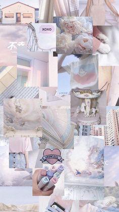 New Vintage Aesthetic Wallpaper Pastel Ideas Pastell Wallpaper, Wallpaper Pastel, Pink Wallpaper Iphone, Cute Patterns Wallpaper, Iphone Background Wallpaper, Trendy Wallpaper, Blue Wallpapers, Pretty Wallpapers, Retro Wallpaper