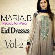 Maria.B Eid Collection Vol-2 | Ready to Wear Evening Dresses 2014 - She9 | Change the Life Style