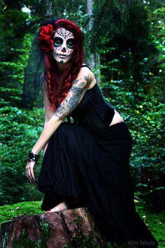 Dia de los Muertos V by ~xnina89x on deviantART