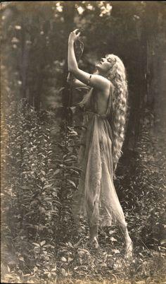 """maudelynn: """" Gertrude Hoffman, by Frank Bangs, c.1917 """""""