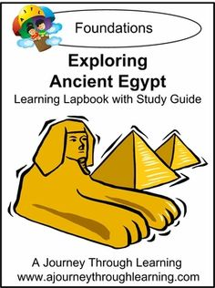 Exploring Ancient Egypt Lapbook. Great supplement for Classical Conversations Cycle 1 Foundations. #homeschool #lapbooks #classicalconversations