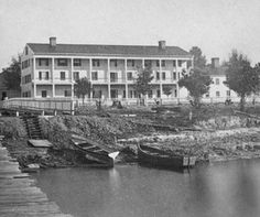 The Brock House was a hotel in Enterprise Florida that was built in the 1870s.  Enterprise on Lake Monroe was the last steamer stop on the St. Johns River.