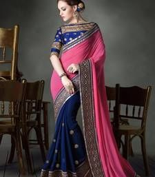 Buy Multicolor embroidered others saree with blouse other-actress-saree online