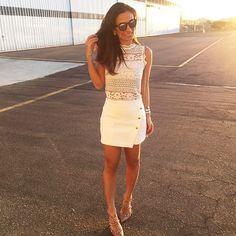 Bom dia quinta feira ❤️ {melhor dia da semana ☺️} com look Artsy para @shoplixmix / apaixonada por esse shorts-saia