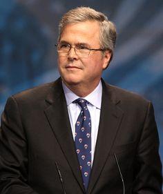 Jeb Bush - met him at a Baker Institute event - Rice University