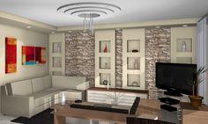 Lakóparki lakás tervezése / The planning of a house park flat Entryway, Flat, Furniture, Home Decor, House, Entrance, Bass, Decoration Home, Room Decor