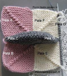 Ulla - Mummojemme neuleet - Dominotossut Mittens, Crochet Hats, Slippers, Knitting, Shawls, Design, Socks, Fashion, Loafers & Slip Ons
