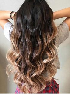 Fresh hair color ideas for ladies to choose and create in these days for most beautiful and fresh hair looks. Here you can see the stunning trends of salted caramel chocolate hair colors and highlights to wear if you want to make you look extra cute and modern. These highlights of colors are best for long & medium hair