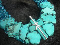 my first turquoise made