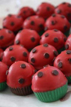 LadyBug Cake Pops!