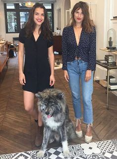 I want those outfits, that apartment, and that dog.