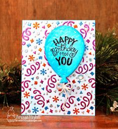 "Larissa Heskett Designs: Newton's Nook Designs March Release 2018 ~ Day 2 ~ ""Uplifting Wishes"" + ""Balloon Shaker""!! =)"