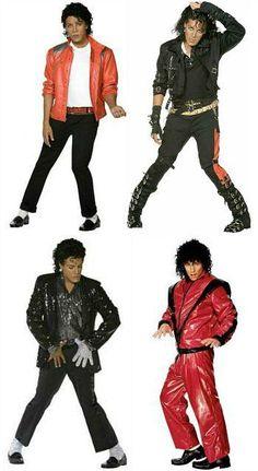 Michael Jackson 80s costume ideas for men