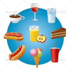 Realistic Graphic DOWNLOAD (.ai, .psd) :: http://vector-graphic.de/pinterest-itmid-1007384144i.html ... Food and Drinks ...  cheese, coffee, cola, dinner, drink, food, hamburger, hot dog, ice cream, icons, illustration, juice, meal, meat, menu, restaurant, sandwich, sausages, set, soda, tea, wine  ... Realistic Photo Graphic Print Obejct Business Web Elements Illustration Design Templates ... DOWNLOAD :: http://vector-graphic.de/pinterest-itmid-1007384144i.html