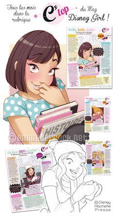 Emilie Decrock | Disney Girl C'ToP ! - Emilie Decrock - Illustratrice freelance