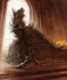 The Iron Throne by JakeMurray on DeviantArt
