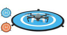 Landing Pad für Drohnen Ø 110cm - sofort lieferbar https://www.futuretrends.ch/landing-pad-fuer-drohnen-oe-110cm.html?utm_content=buffer35169&utm_medium=social&utm_source=pinterest.com&utm_campaign=buffer