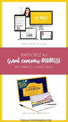 Concours Aquarelle : Matériel + cours !