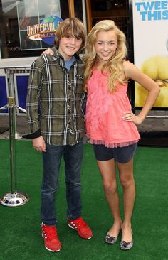 Actors Peyton and Spencer List