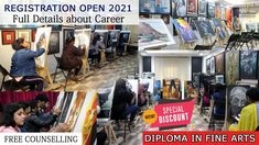 Diploma in Fine Arts 2021-Kalabhumi Full Details, Course, Job, Scope 1... Diploma Courses, Art Courses, Counseling, Competition, Knowledge, How To Apply, Fine Art, Therapy, Visual Arts