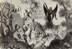 Depiction of the Witches' Sabbath http://iopanosiris.tumblr.com/