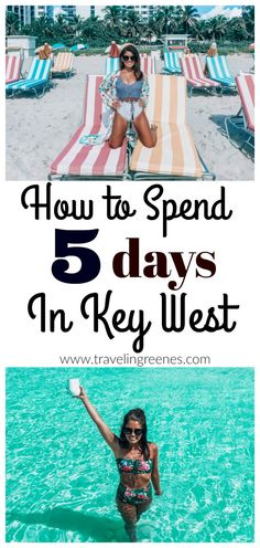 How to Spend 5 Days in Key West - Traveling Greenes Florida Keys, Fl Keys, Key West Florida, Florida Vacation, Florida Travel, Travel Usa, Florida Beaches, Tampa Florida, Travel Packing