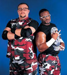 Dudley Boyz (Bubba Ray and D-Von)