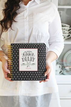 The perfect way to preserve all your nostalgic holiday recipes. The Keepsake Kitchen Diary