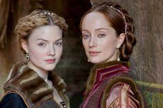 Lucrezia and Giulia Farnese in Borgias