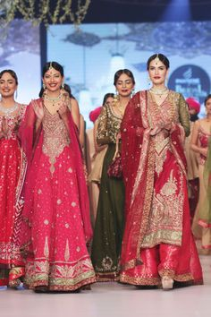 Zaheer Abbas Bridal Collection at PBCW 2014 Day 2