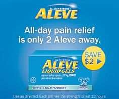 Tri Cities On A Dime: ALEVE - SAVE $2.00 OFF PRINTABLE COUPON.