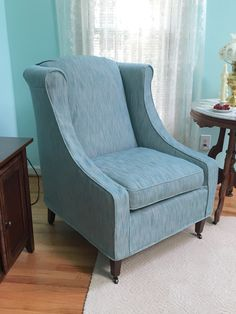 Beautiful People Also Love These Ideas. Custom Chair Slipcover.