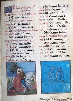 May - Book of Hours - France, Bourges, ca. 1473 - MS M.677 fol. 3r