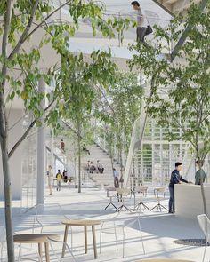 Design Hub - блог о дизайне интерьера и архитектуре: Новый учебный центр в Париже