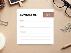 Day 28 - Contact Us designed by Andrew Kovardakov. Connect with them on Dribbble; the global community for designers and creative professionals. Web Design, Form Design, Graphic Design, One Page Website, Site Web, Contact Us Page Design, Business Cards Layout, Website Design Inspiration, Design Ideas