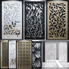 models: Other decorative objects - Set of decorative Grill Door Design, Main Door Design, Gate Design, Window Grill Design Modern, Living Room Partition Design, Room Partition Designs, Decorative Metal Screen, Decorative Panels, Decorative Objects