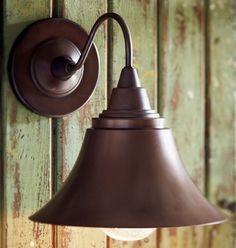 metal wall lamp outdoor lighting fixtures vintage look
