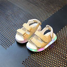 5eaec7ea68ca3 Children sandals summer new baby baby sandals boys sandals girls children  children LED flashing shoes