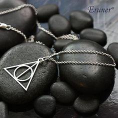 eruner® mode (trekant form) sølv legering vedhæng halskæde – DKK kr. 15