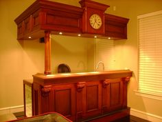 Home Wet Bar! - Oh I have always wanted to have one of my own.
