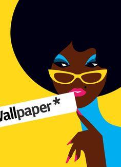 Malika Favre design for Wallpaper Magazine
