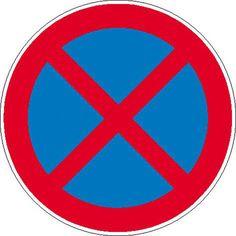 Verkehrszeichen / Verkehrsschilder - StVO Absolutes Haltverbot