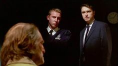 """MIDSOMER MURDERS : The Green man S7E1: Commentary """"Sgt. Troy is now an inspector! He receives notice that he's achieved both a promotion and a transfer to a larger precinct which means he will be leaving Midsomer! Here you can see how both Troy and Tom take the news. Troy is excited! Tom is proud of Troy but will certainly miss him!"""""""