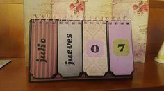 Calendario perpetuo estilo gorjuss