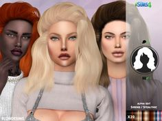 STEALTHIC SIRENS - ALPHA EDIT - Blonde sims