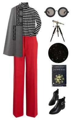 """""""Untitled #3805"""" by lbenigni ❤ liked on Polyvore featuring Joseph, J.Crew, WithChic, IMAX Corporation and Christopher Kane"""
