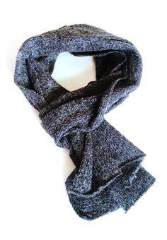 Sciarpa a maglia in lana garzata art. 45 di IlBauledellamiaNonna
