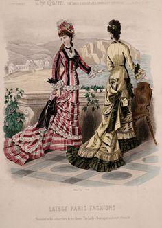 Placa de moda de 1877, La Reina tan loco que no es más grande